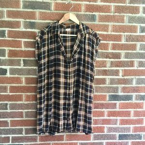 Really cute plaid tunic dress